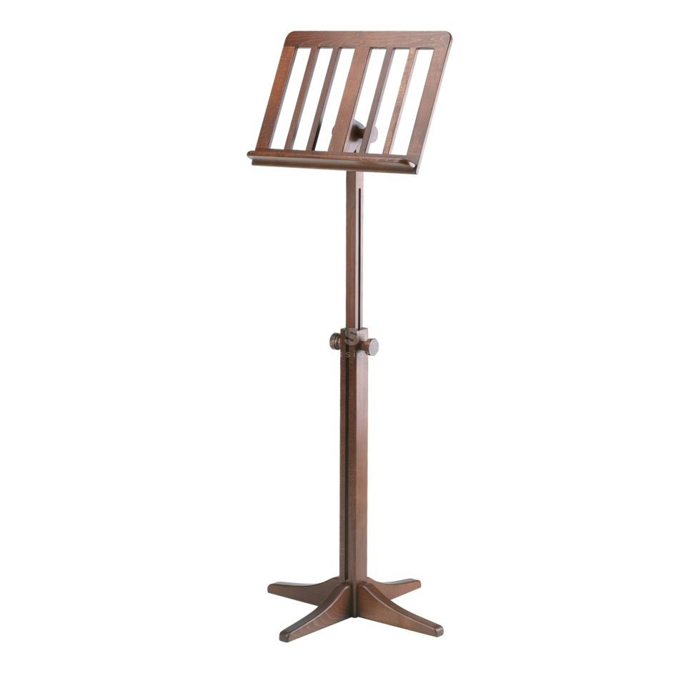 König & Meyer 116/1 Wooden Music Stand 11611 walnut Produktbillede