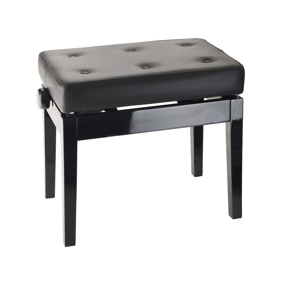 König & Meyer 13995 Piano bench with quilted seat cushion Product Image