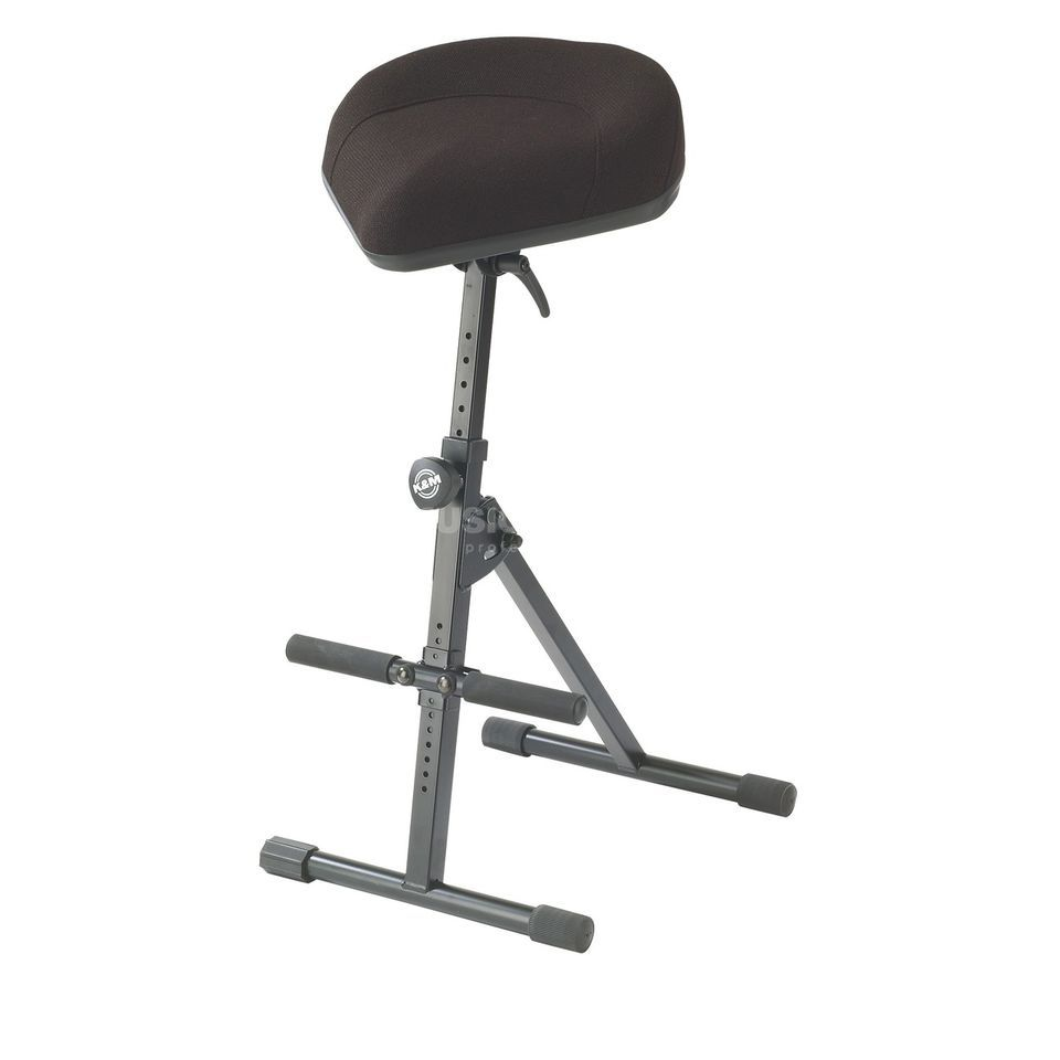 König & Meyer 14044 Stool black fabric Produktbillede