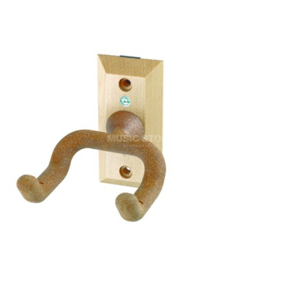 König & Meyer 16220 Guitar Wall Mount Wood / Cork Produktbillede