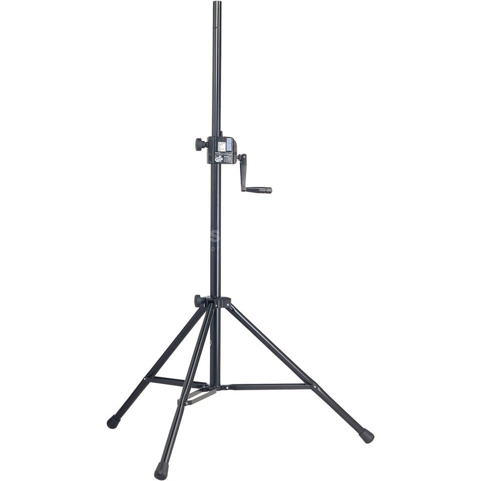König & Meyer 213 Speaker Stand black max. -50kg, with Crank Produktbillede
