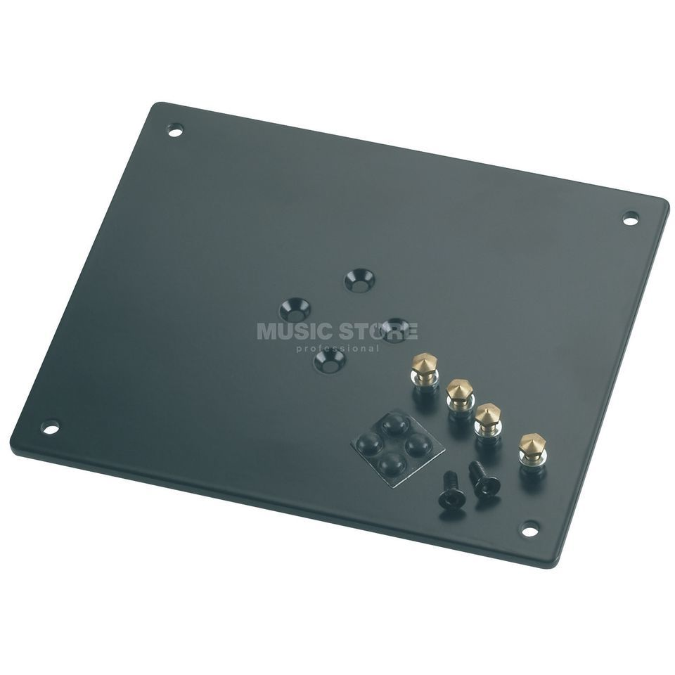 König & Meyer 26792-024 Mounting Plate Black, for 26795 + 26790 Produktbillede
