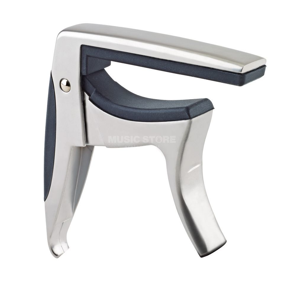 König & Meyer 30910 Guitar capo - matt chrome Product Image