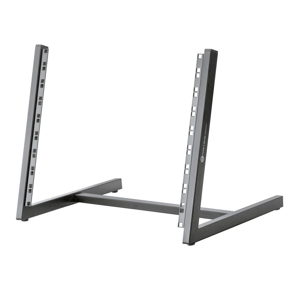 König & Meyer 40900 Table Rack 8 HU Black Angled Produktbillede