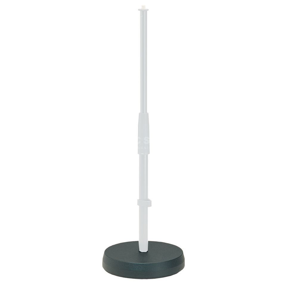 König & Meyer Cast Socket 18cm for 233 Stand Black Produktbillede