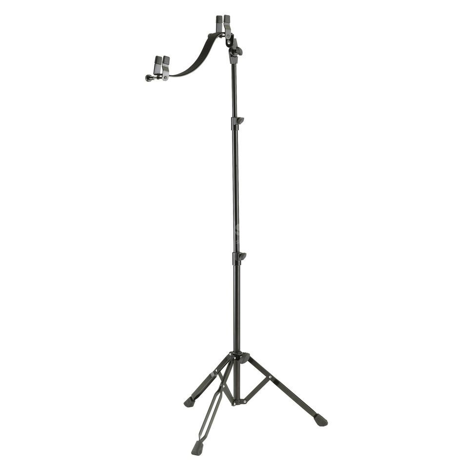 König & Meyer Guitar Stand for E-Guitar High grade chromium-plated Produktbillede