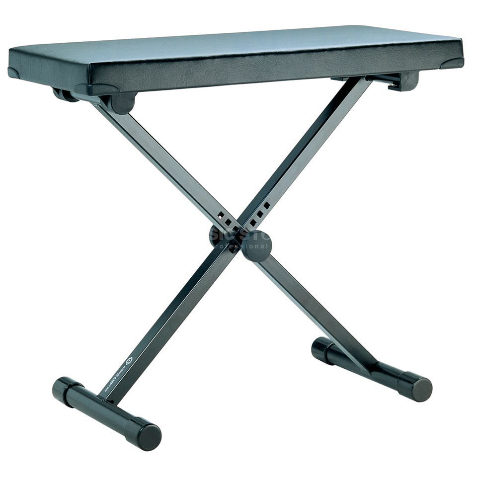 König & Meyer K & M 14075 keyboard bench Black Produktbillede