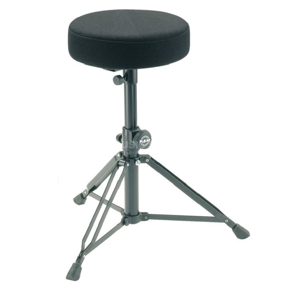 König & Meyer Throne 14016, round seat, cloth top Produktbillede