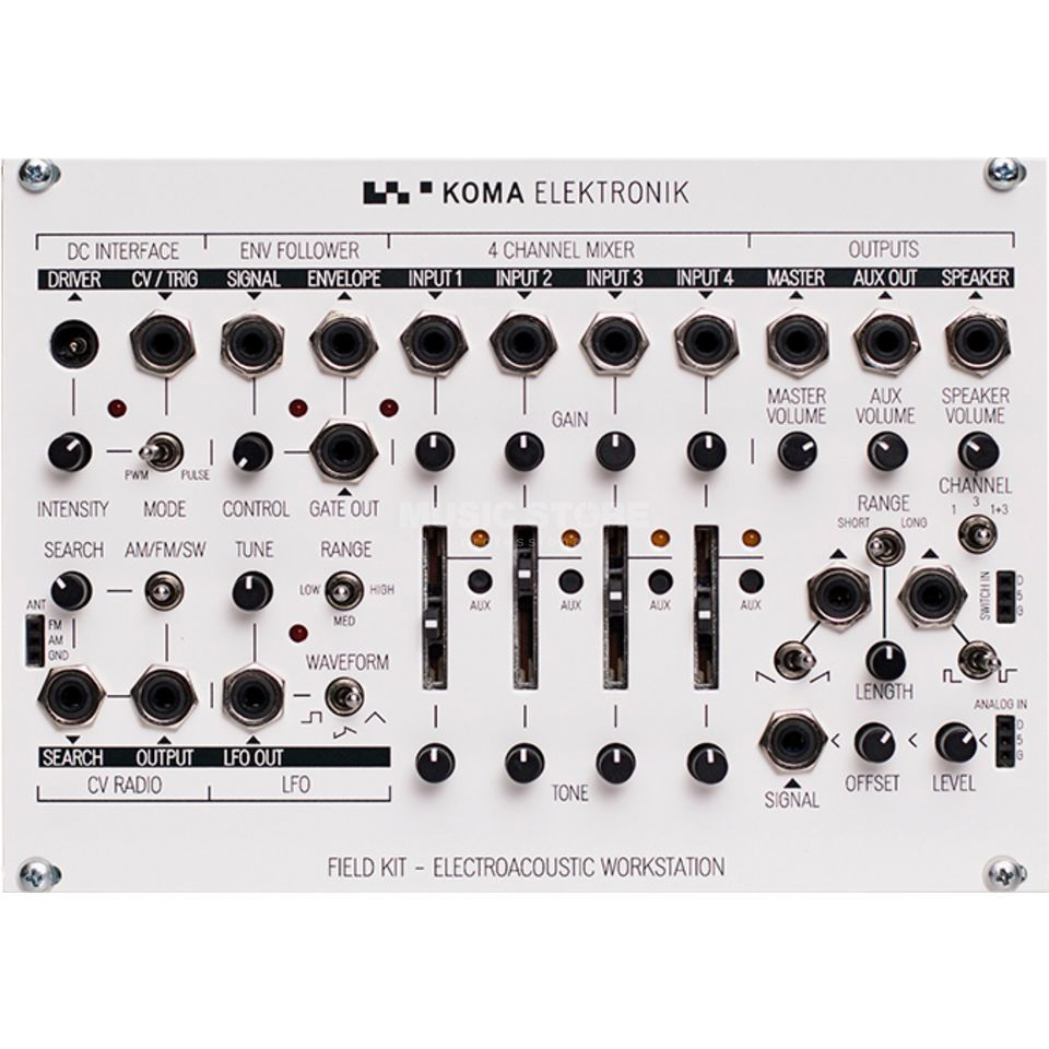 Koma Elektronik Field Kit Eurorack Panel Product Image