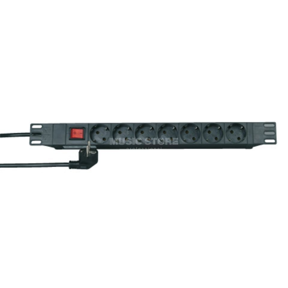 Kopp SL1 Multiple Socket Outlet Plasticrackangle. 1HE Produktbillede