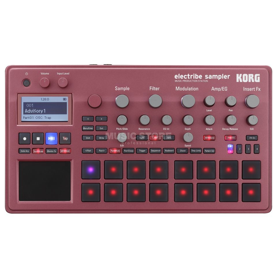 Korg Electribe Sampler Red Produktbild