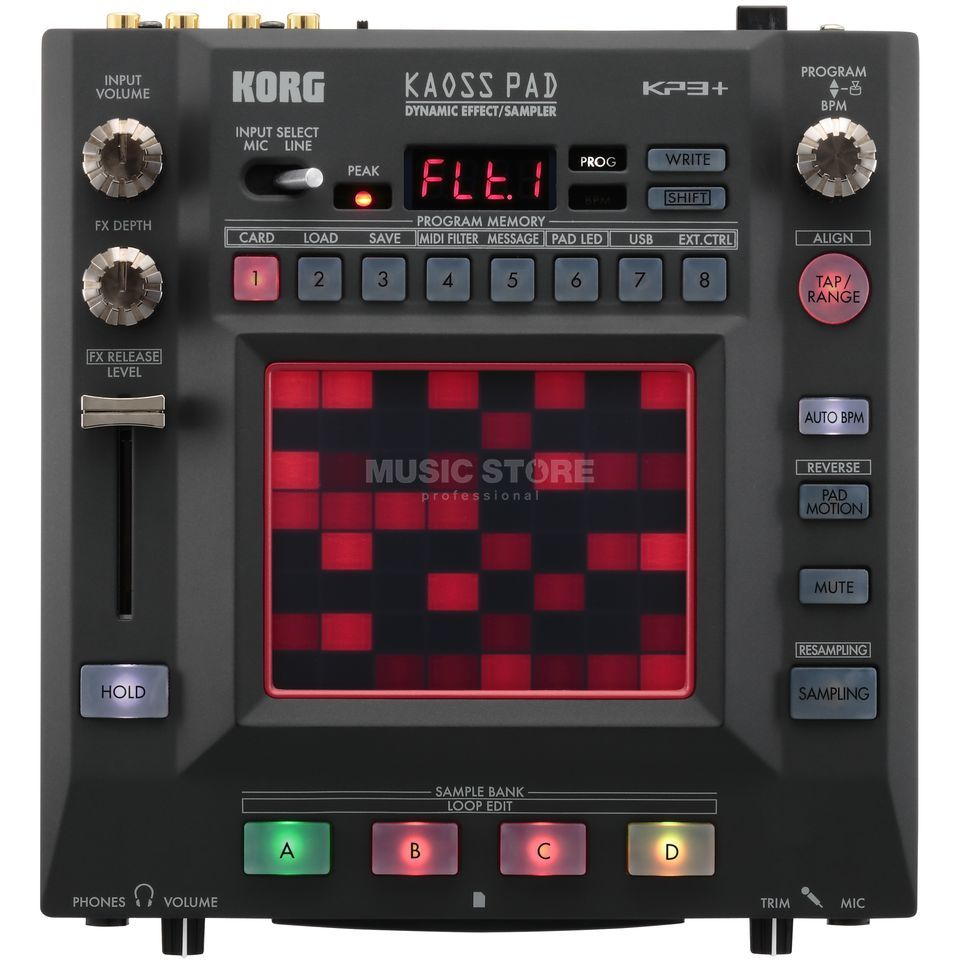 Korg Kaoss Pad KP3+ Dynamic Effect/Sampler Product Image