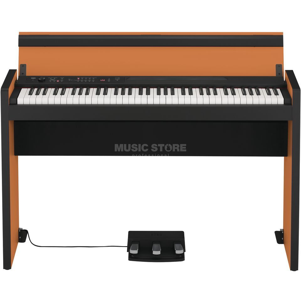 Korg LP-380 OB 73 Tasten Digital Piano Orange-Black Produktbild