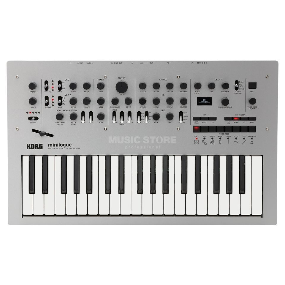 Korg minilogue Polyphonic Analog Synthesizer Produktbillede