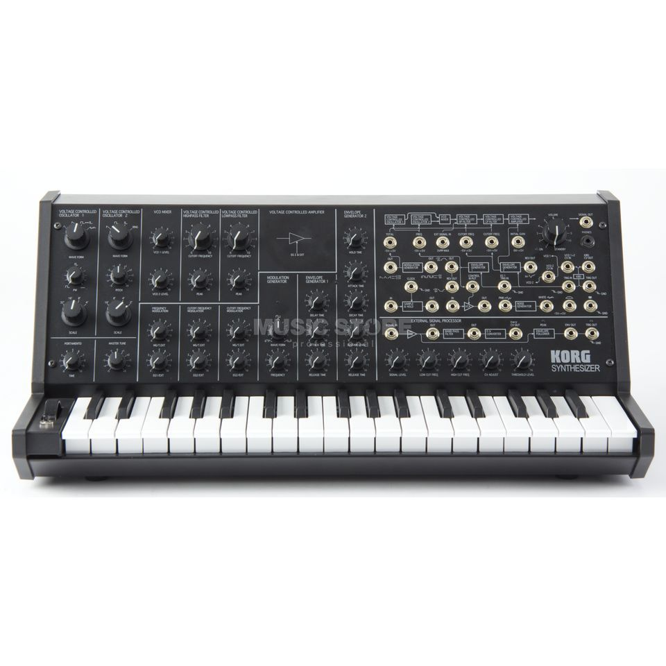 Korg MS-20 mini Analog Synthesizer Produktbild