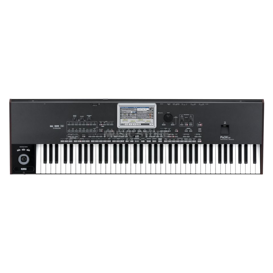 Korg Pa3X - Le Entertainer Keyboard Produktbild
