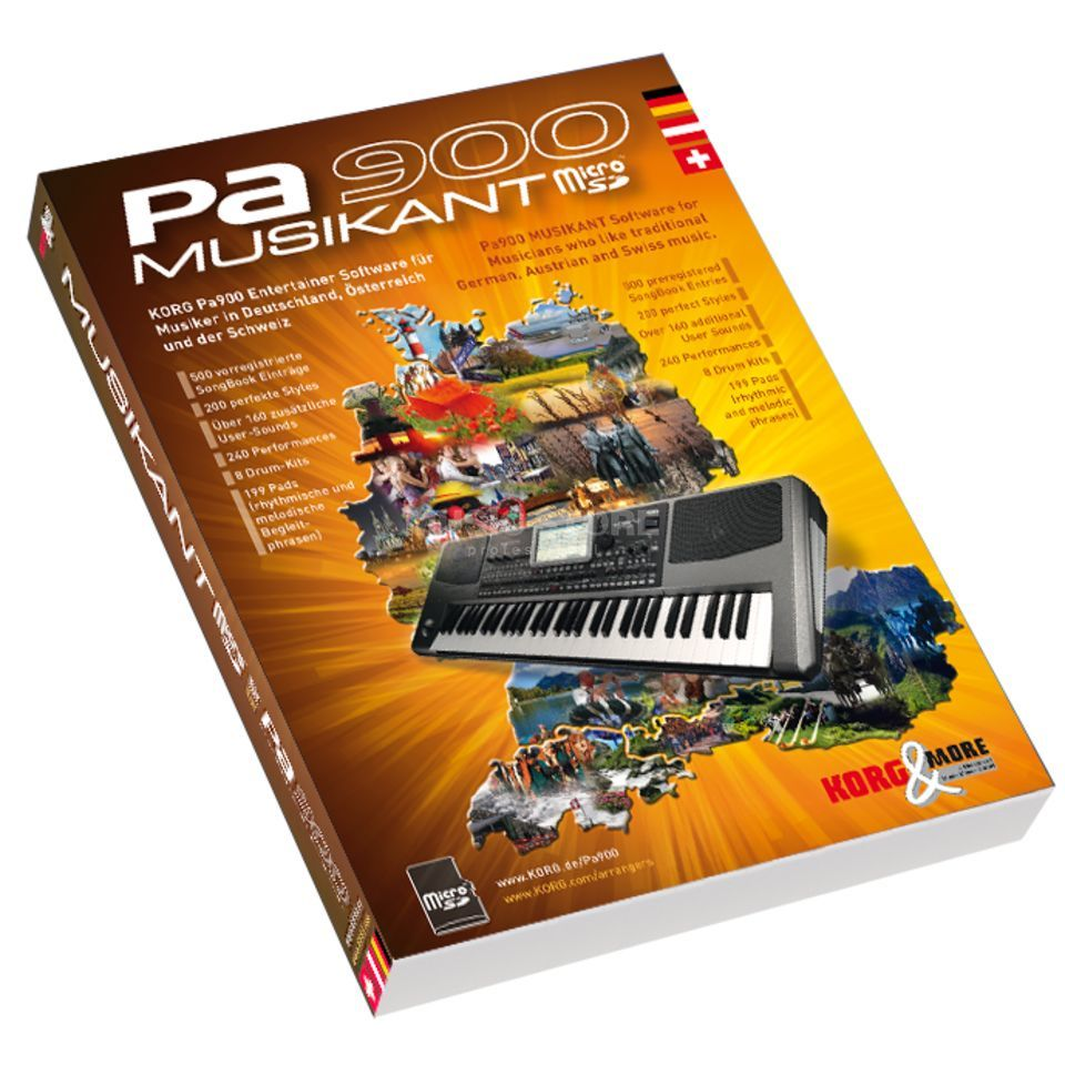 Korg Pa900 Musikant Software Expansion Produktbillede