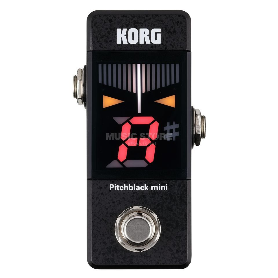 Korg Pitchblack Mini black Product Image