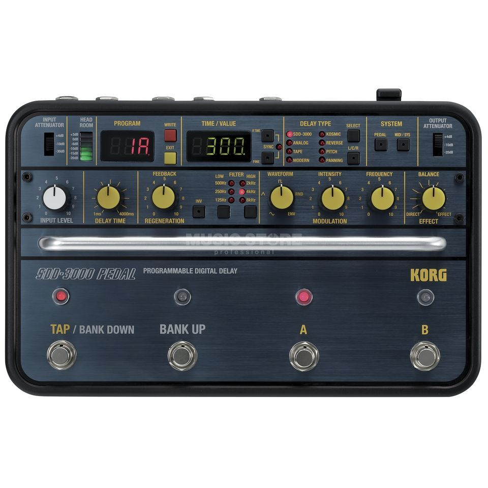 Korg SDD-3000 Digital Delay Produktbild
