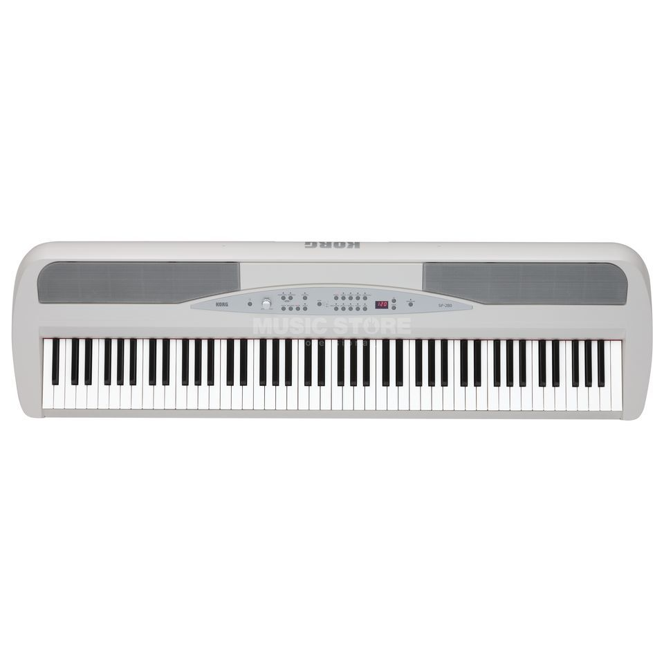 Korg SP-280 Digital Piano, White  Produktbillede