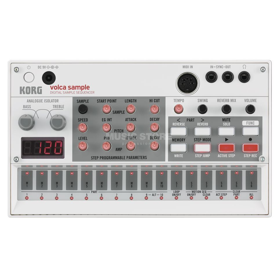 Korg Volca Sample Digital Sample Sequenzer Produktbild