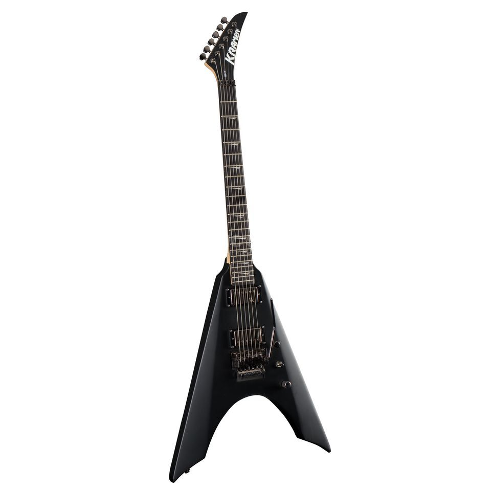 Kramer Guitars Nite V FR Satin Black Product Image