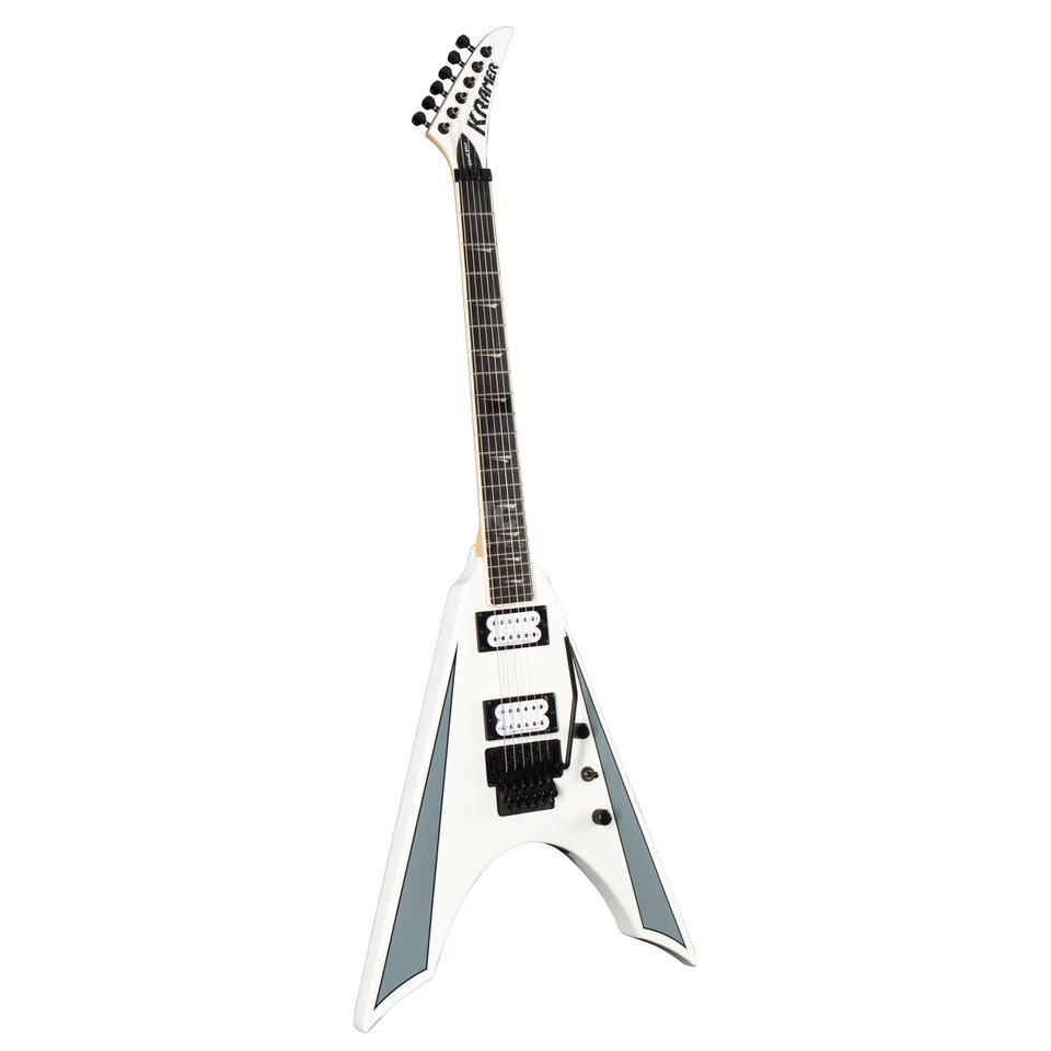 Kramer Guitars Nite V Plus FR Alpine White Product Image