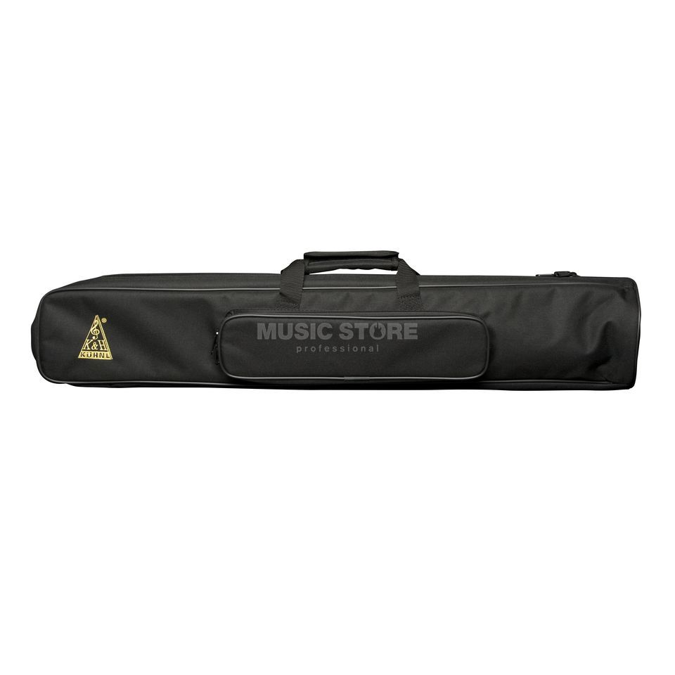 Kühnl & Hoyer Fanfare Bag - Black, padded with shoulder strap Product Image