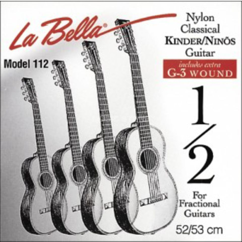 La Bella 178 Nylon Strings 7/8 Size Изображение товара