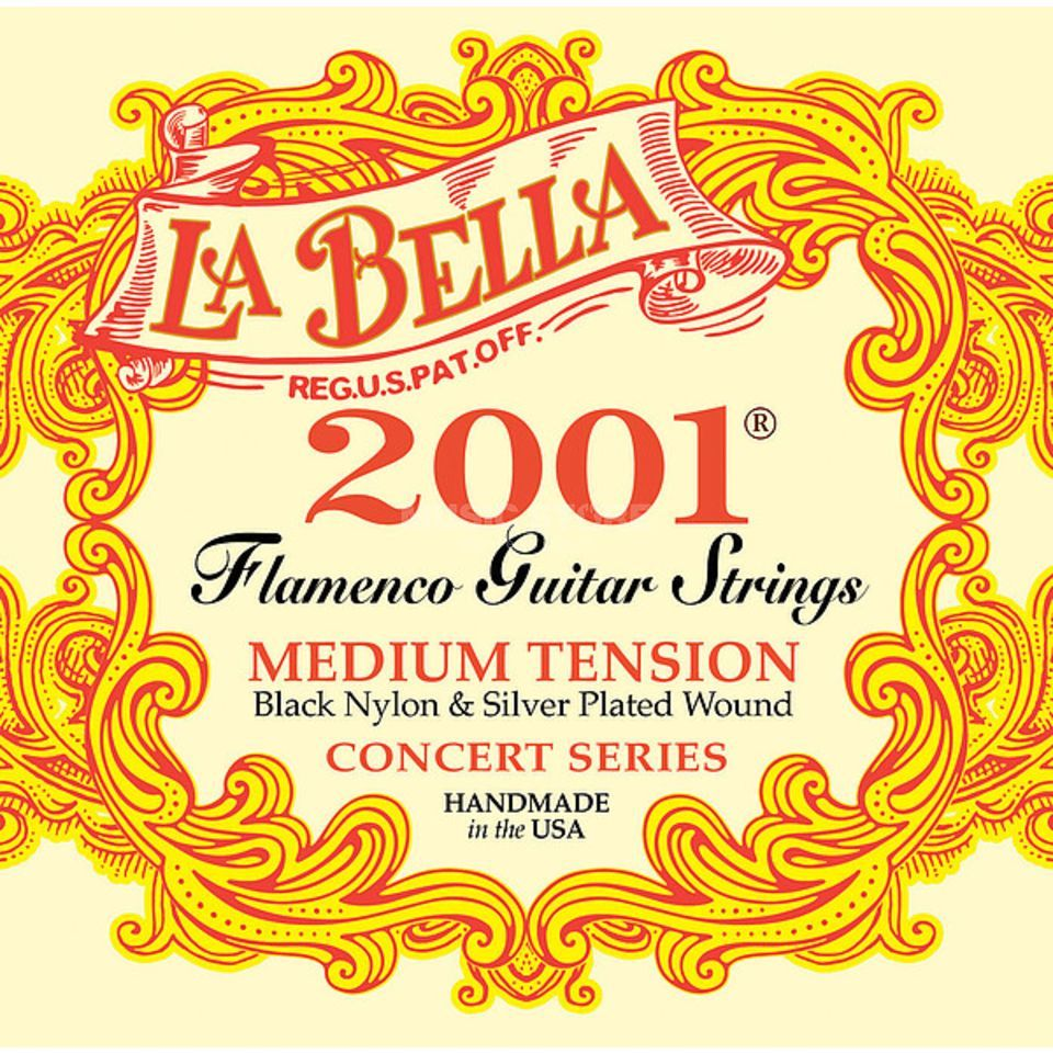 La Bella 2001 Nylon Strings Flamenco Medium Produktbillede