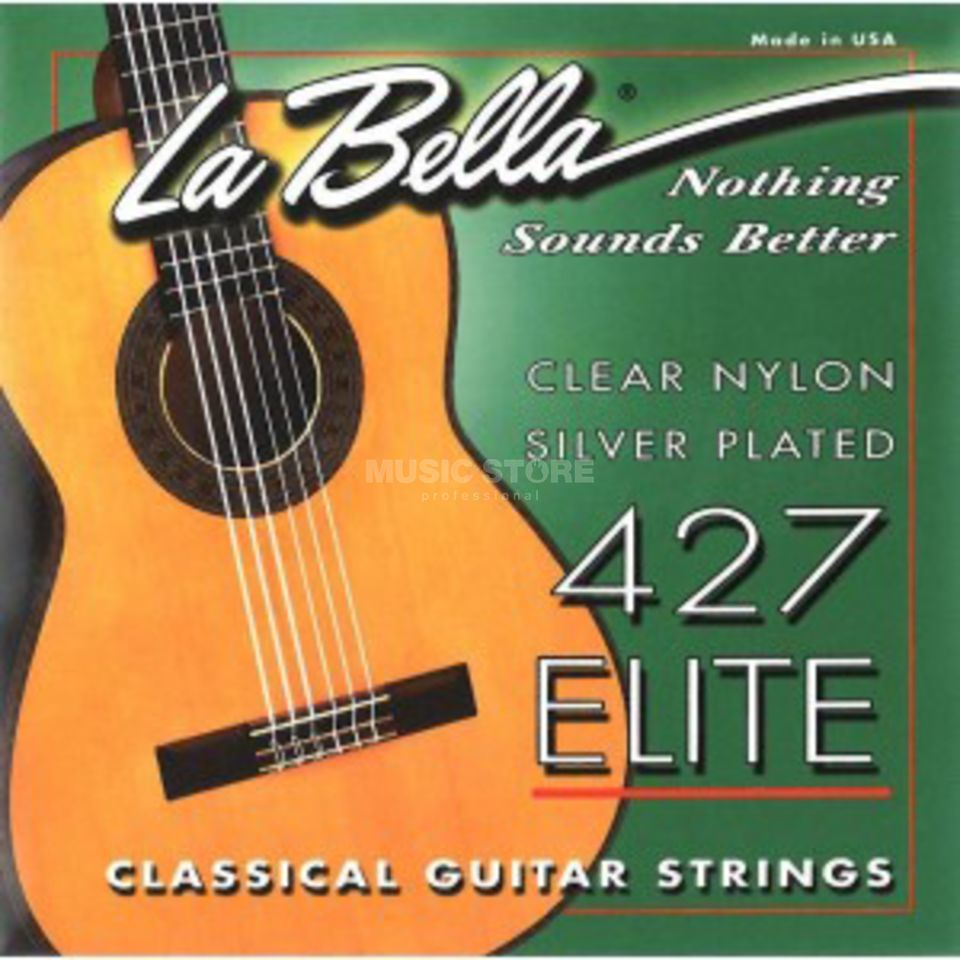 La Bella 427 Nylon Strings Elite Silver plated Produktbillede