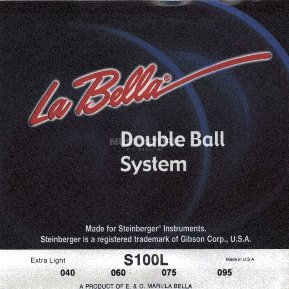 La Bella bas snaren 40-095 Double Ball Steenberger Headless 4saitig Productafbeelding