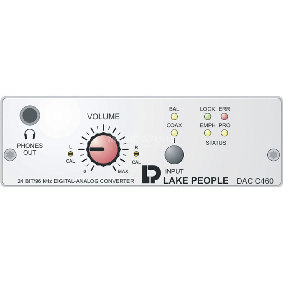 Lake People DAC C460 2-Channel D/A-Converter Produktbillede