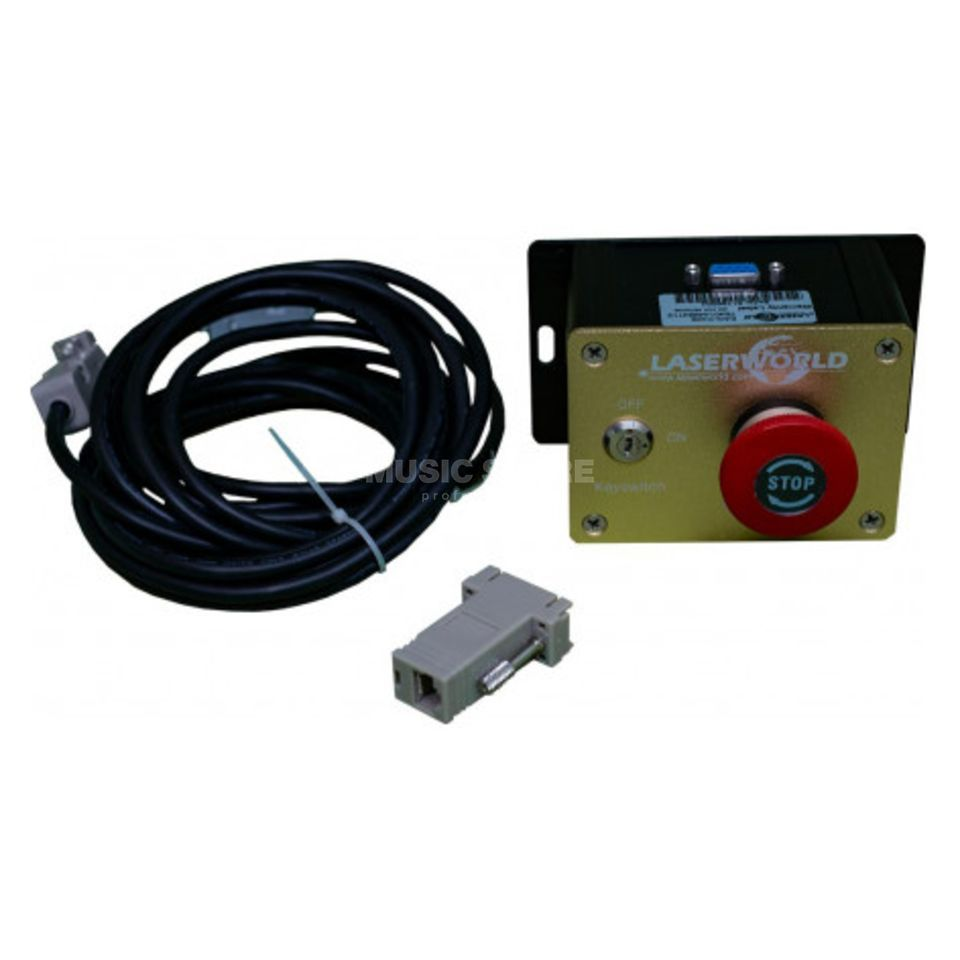 Laserworld LASER SAFETY Unit Not Aus with Key Switch Produktbild