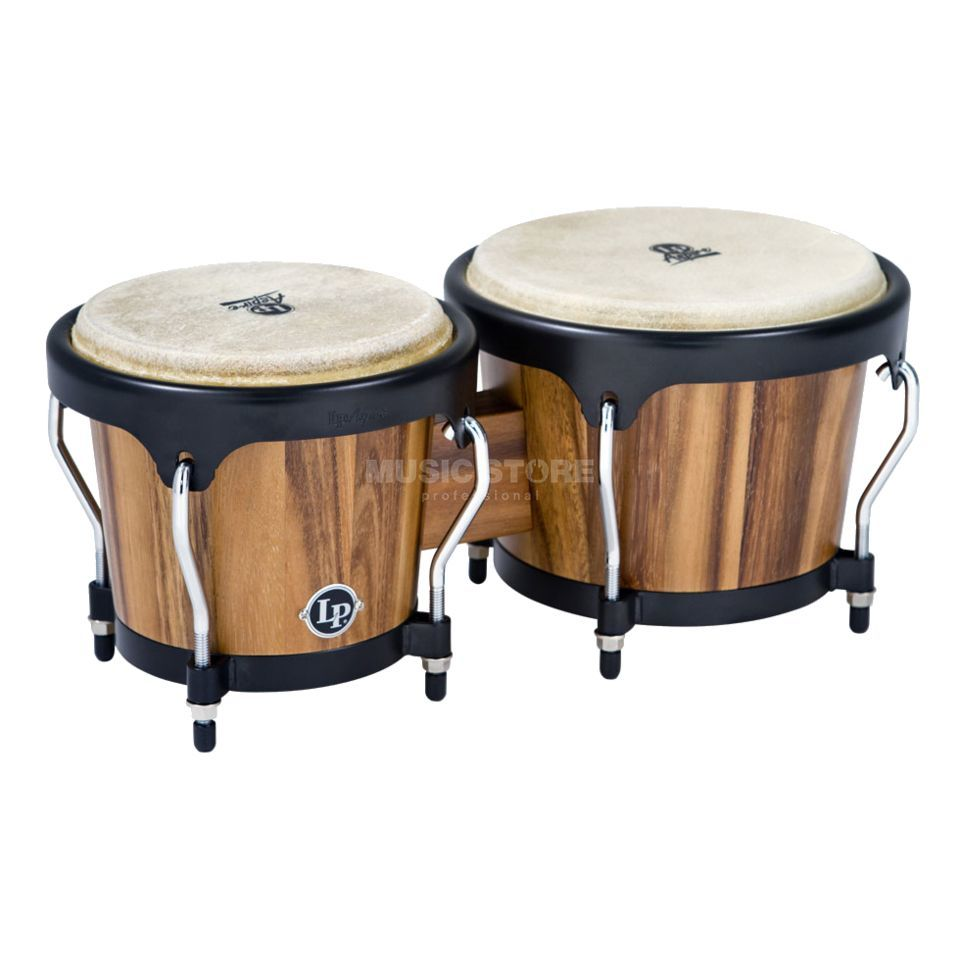 "Latin Percussion Aspire Bongos LPA601-SW, 6-3/4"" + 8"", Jamjuree Wood Produktbillede"