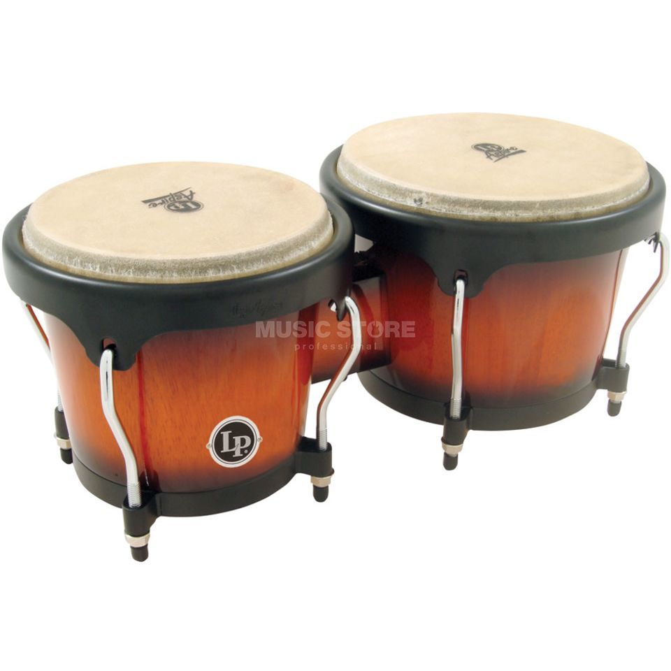 "Latin Percussion Aspire Bongos LPA601-VSB, 6 3/4"" + 8"", Sunburst #VSB Productafbeelding"