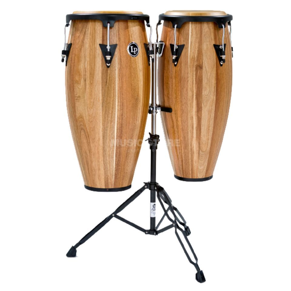 "Latin Percussion Aspire Conga Set LPA647-SW, 11"" & 12"", Walnut Product Image"