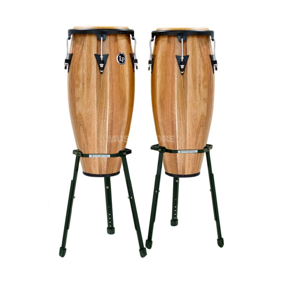 "Latin Percussion Aspire Conga Set LPA647B-SW, 11"" & 12"", Walnut Produktbillede"