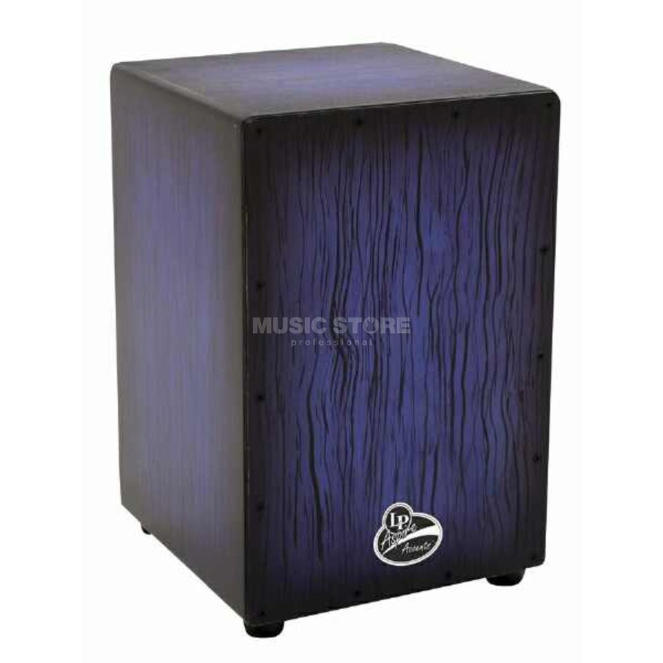 Latin Percussion Cajon Aspire Accent LP1332, Blueburst Product Image