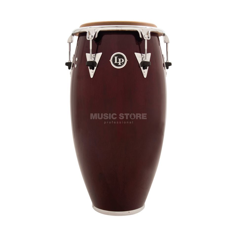 "Latin Percussion Classic Conga LP552T-DW 12 1/2"" Tumba, Dark Wood Product Image"