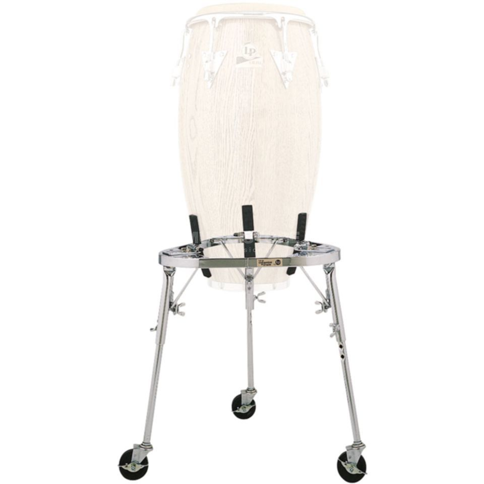 Latin Percussion Conga Stand LP636 with Wheels Product Image
