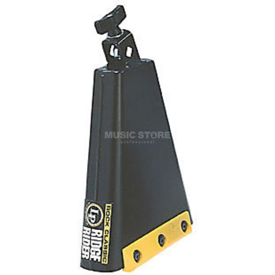 Latin Percussion Cowbell Ridge Rider Rock LP009 Rock Classic Product Image