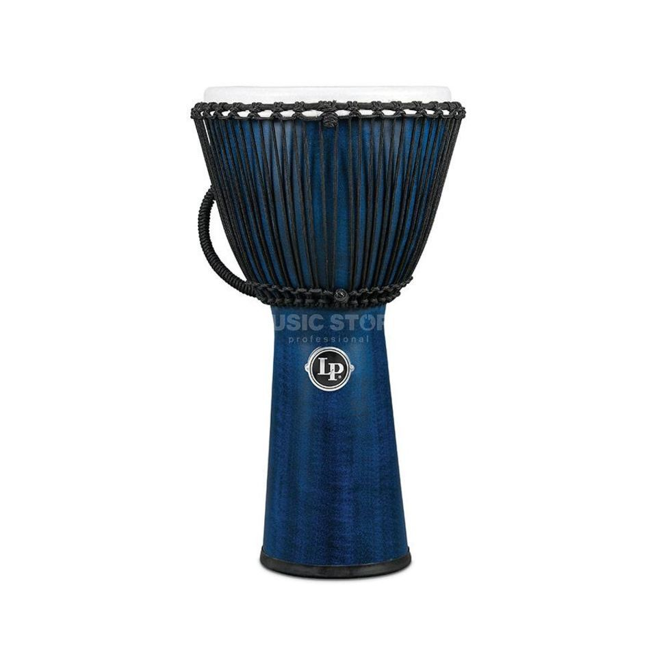"Latin Percussion FX Rope Djembe LP724B, 11"", Blue Produktbild"