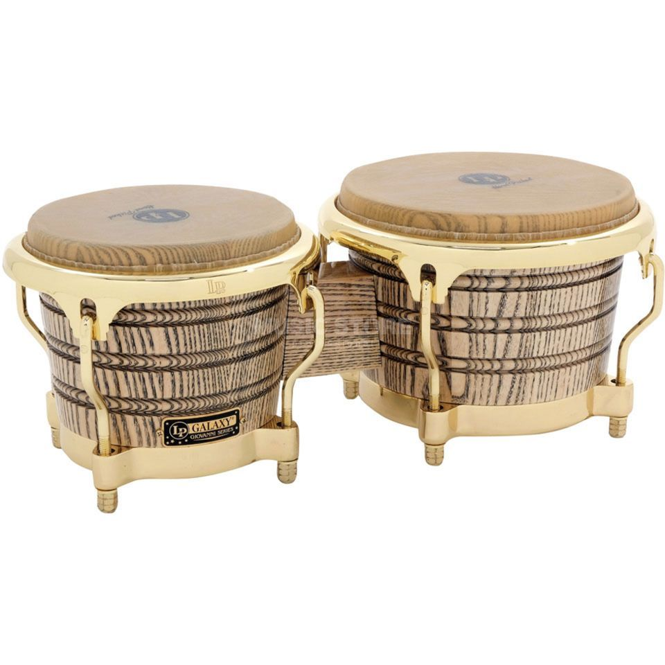 "Latin Percussion Galaxy Bongos LP793X 7 1/4""+8 5/8"" Giovanni Series Product Image"