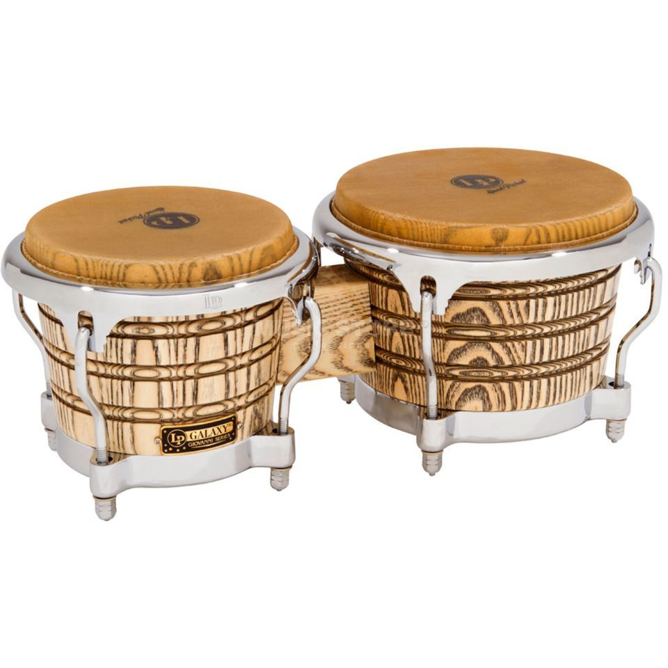 Latin Percussion Galaxy Bongos LP793X-C, Chrome Hardware Zdjęcie produktu