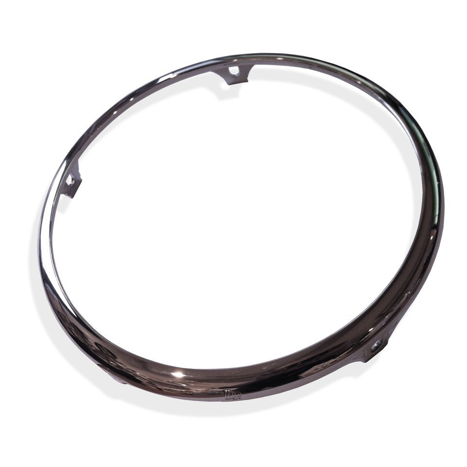 "Latin Percussion Quinto Hoop 11"", Chrome Product Image"