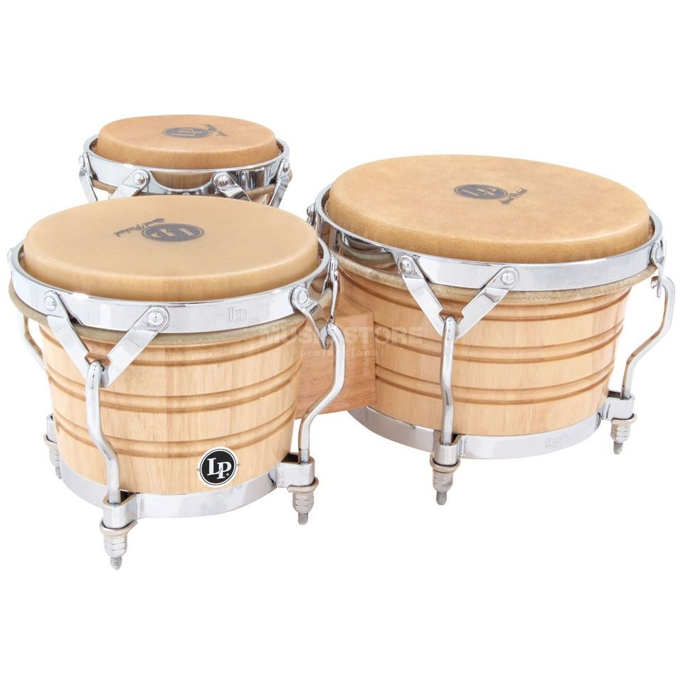 Latin Percussion Triple Bongos LP202-AW, Generation III, Wood Produktbild
