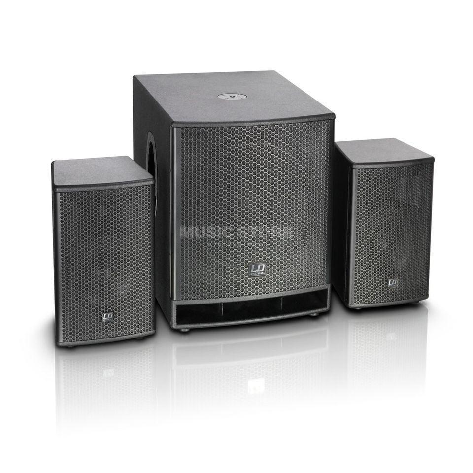 "LD-Systems DAVE G3 Series - Compact 18"" aktives PA System Produktbild"