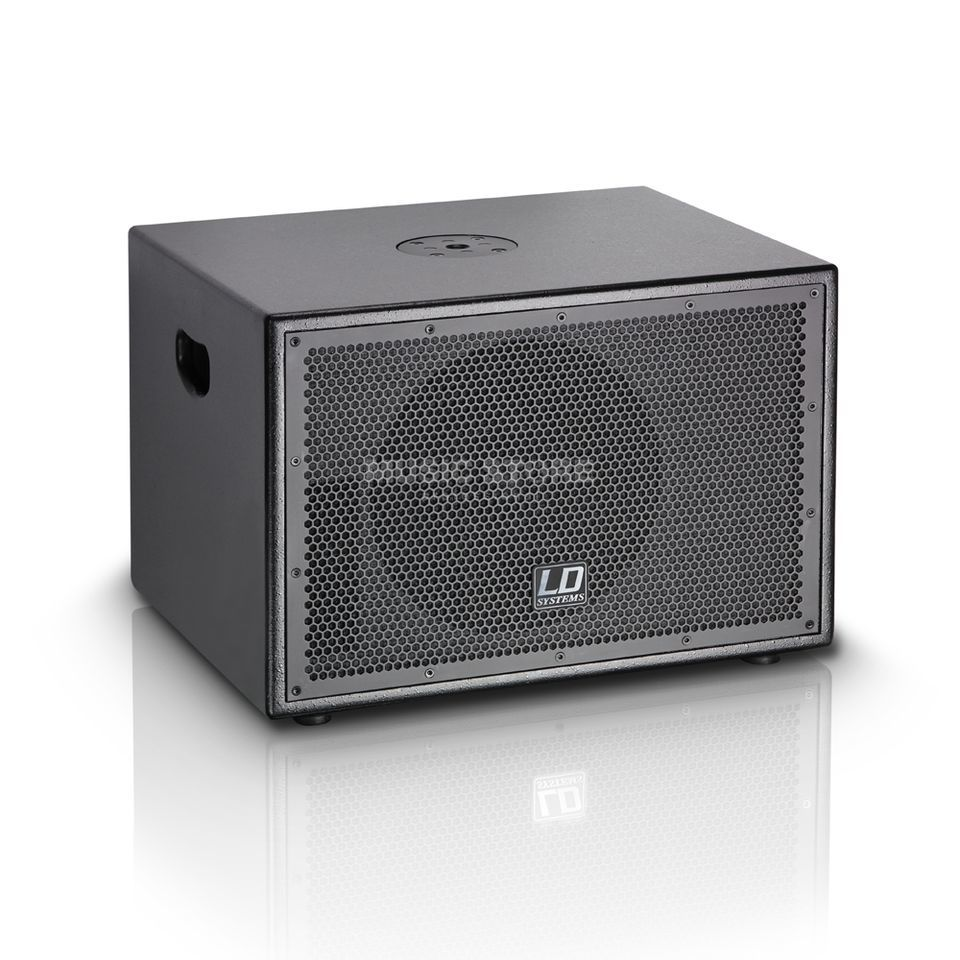 "LD-Systems LDSUB10A, Black Active 10"" Bass, 3x120Watt Produktbillede"