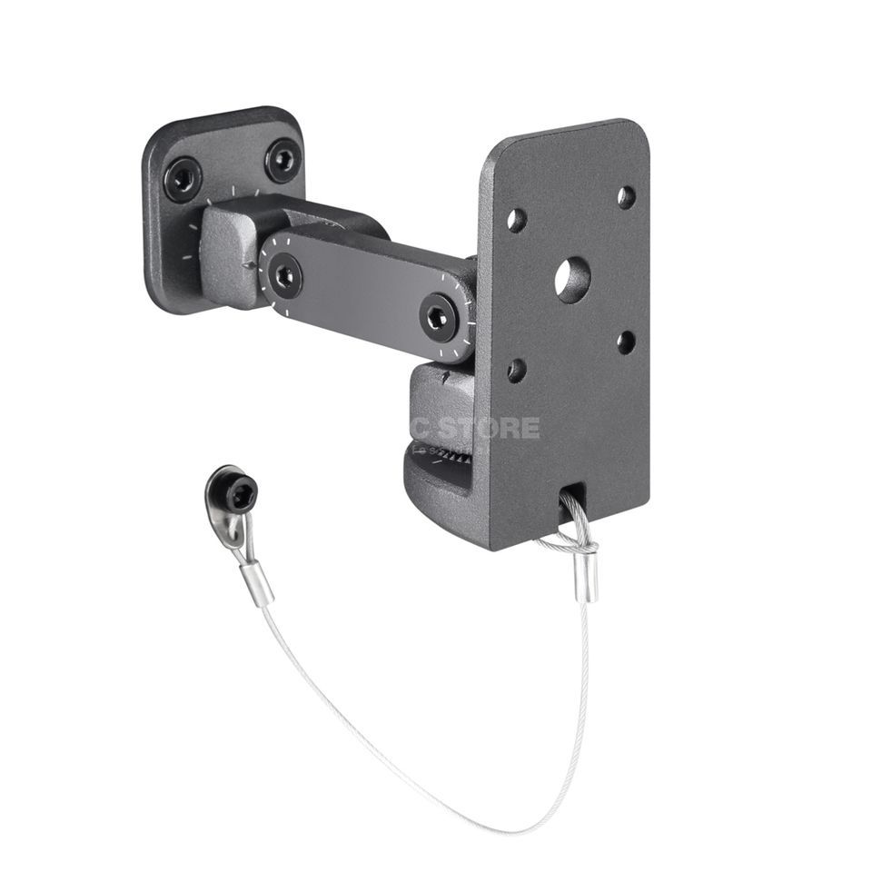 LD-Systems SAT WMB 10 B Wall mount for speakers black Produktbillede